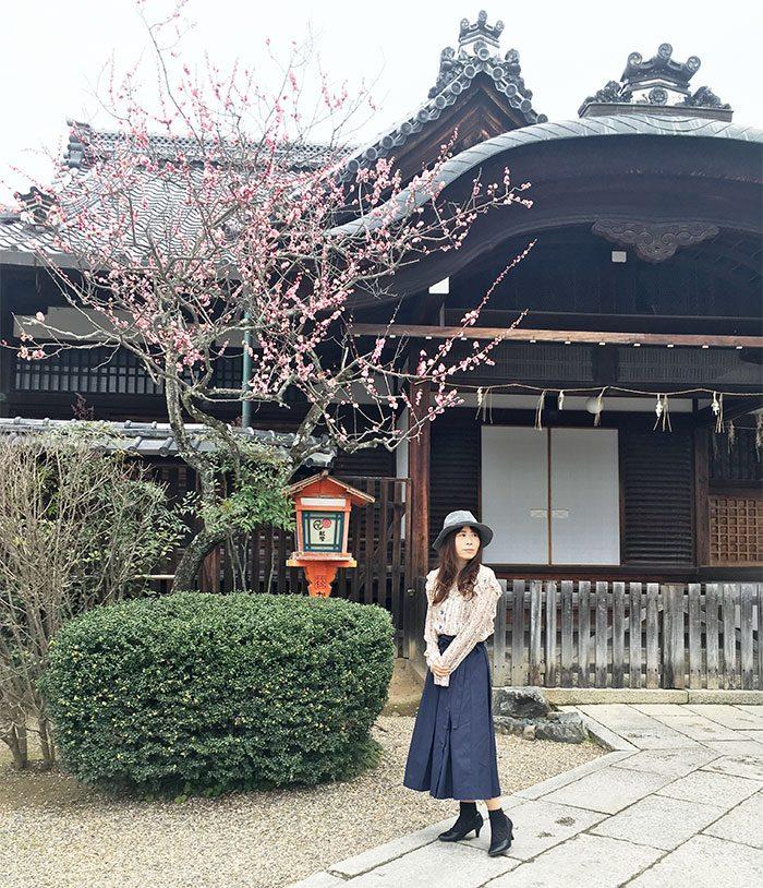 【京都まにあ】梅香に誘われて美と恋のパワースポット「八坂さん」へ♡