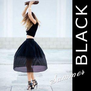 【知って得する!カラー講座】夏の黒☆アラフォー世代が着てもいい黒、ダメな黒☆