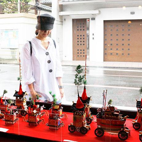 【京都まにあ】コンチキチン♪祇園祭がはじまります!梅雨空の中準備は進んでいます☆