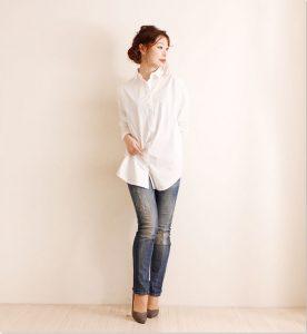 【最速でオシャレに見せる一着】夏の必須アイテム!?白シャツコーデ☆