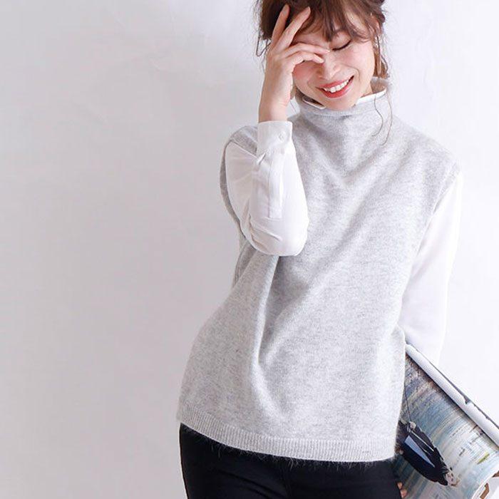 【お値段以上、アラモ】韓国で流行中の「ベスト」実は年中着まわせるアイテムだった!!