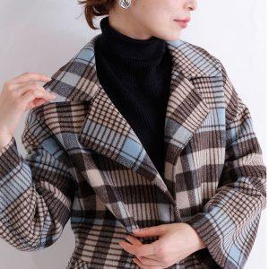 【 最速でオシャレに見せる一着】流行色とトレンドアイテムの冬らしい愛されコーデ
