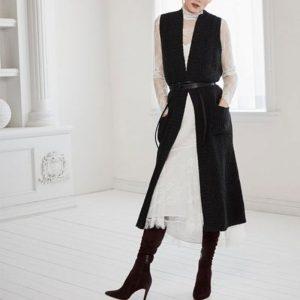 【体型隠しのセオリー】ロング丈アイテムで女性らしく、ほっそりとスタイルアップ♪