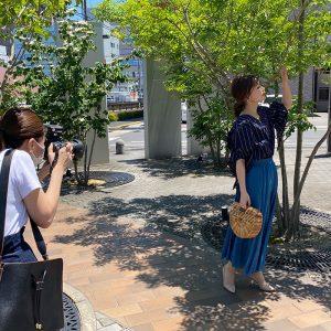 【スタッフコラム】狙うは真夏の爽やかさ!ロケ撮影に密着しました☆サワアラモード撮影日記その2