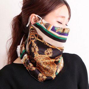 【一押しオススメアイテム】セレブに学ぶ!お洒落なスカーフマスクがおすすめな理由
