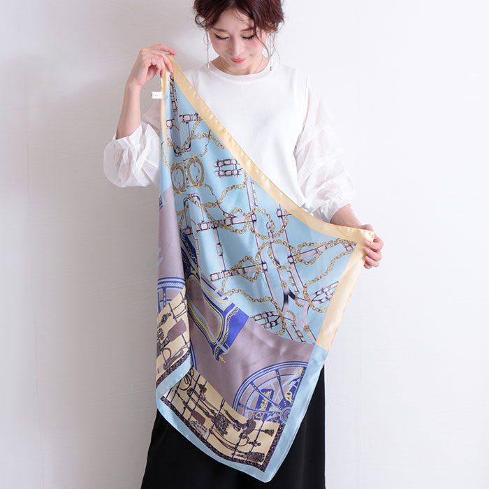 【ストールの巻き方講座】オシャレに、日焼け予防に・・・夏にこそ使えるスカーフの巻き方講座!!