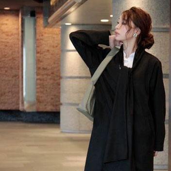 【お値段以上、アラモ】ショール付きコートと褒められトップスで気分も上がる♪ アラモスタイルで冬を楽しむ