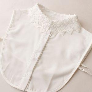 【コーディネート】手持ち服にちょい足しでおしゃれに♪ 手持ち服がブラッシュアップする、レースの付け衿特集!