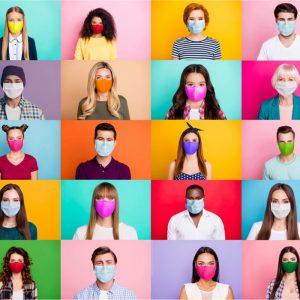 【 一押しオススメアイテム】第一印象が大事な出会いの季節に♪ ニューノーマルな毎日には、おしゃれなマスクファッションで差をつける