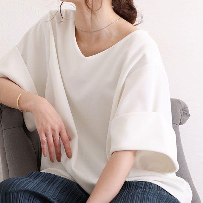 【やっちゃいけないNGファッション】そのまま着ると「体操着」になっちゃう!?白Tシャツのダサみえ防止術